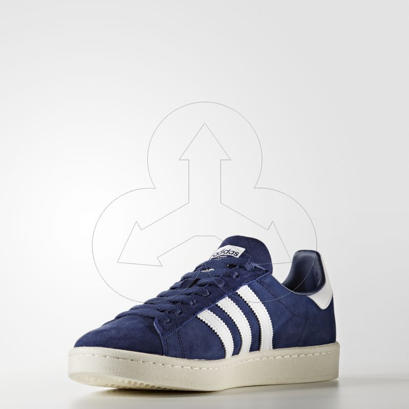 adidas Buty Campus Shoes niebieski Dark BlueFootwear